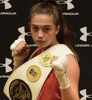 Alexis Lavarine selected for the USA Boxing 2016 National Junior Championship Team