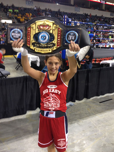 Alexis Lavarine at Ringside World Championships