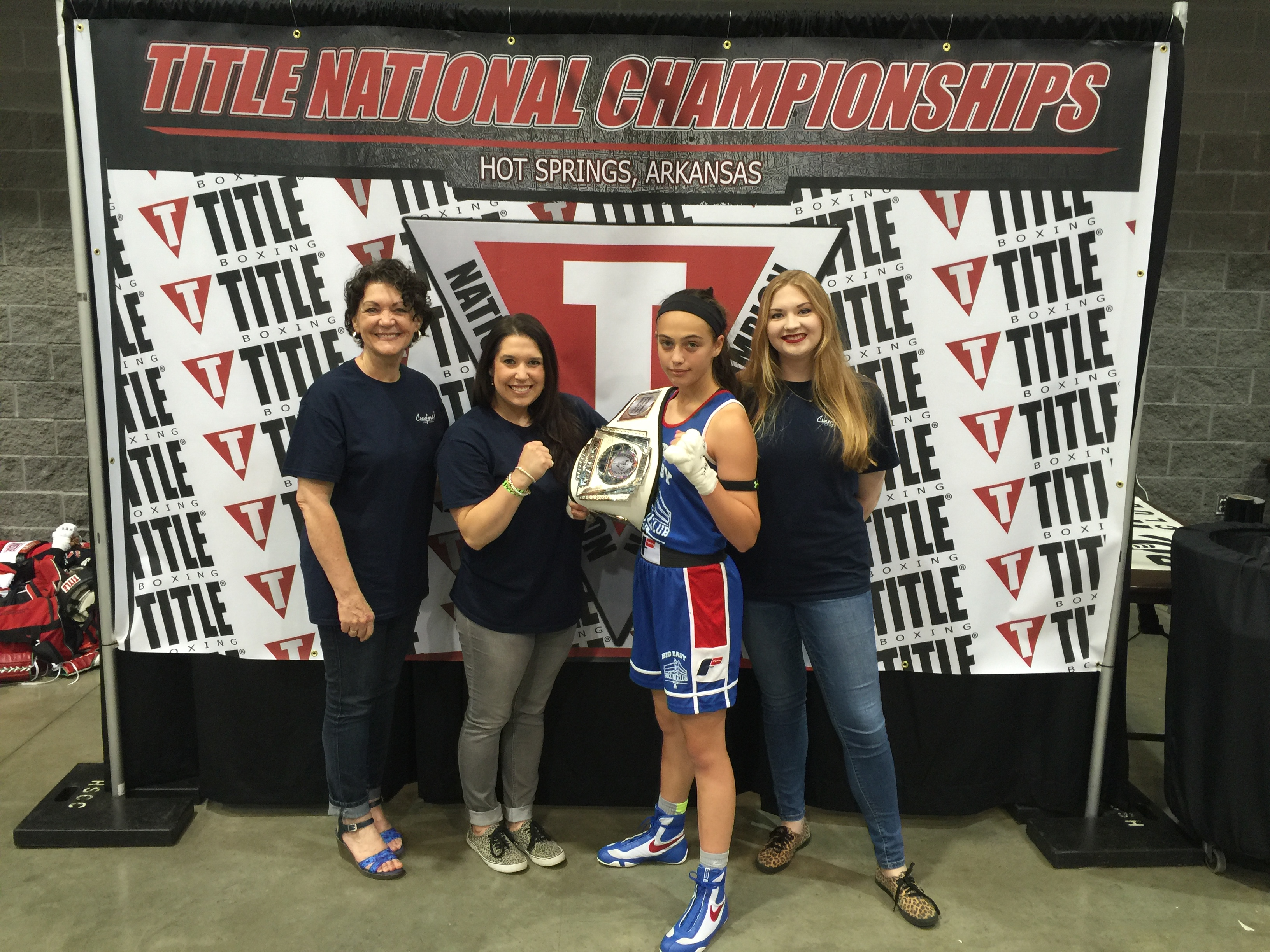 World Champion USA Boxer Alexis Lavarine 13 yr old and friend USA Boxer 15 yr old Jolene Bottini