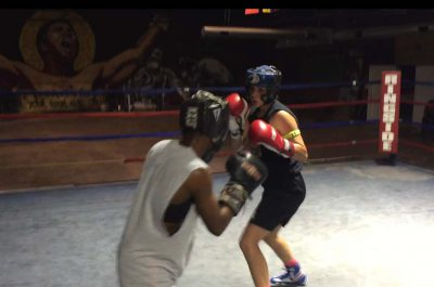 Alexis sparring 2016
