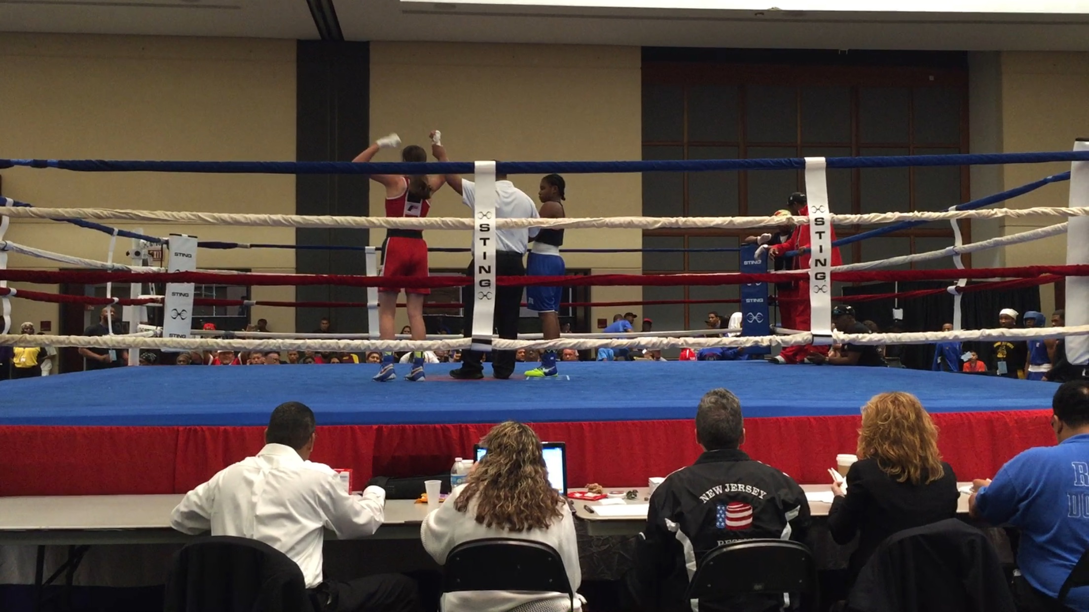 Alexis wins by unanimous decision in 2016 Junior Olympics