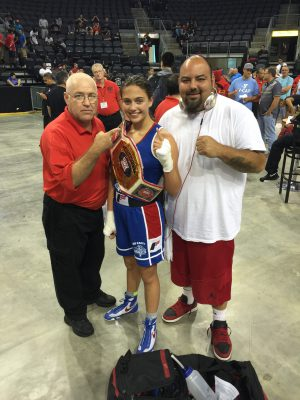 Alexis Lavarine Ringside World Champion