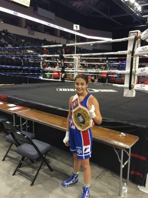 Ringside World Champion Alexis Lavarine