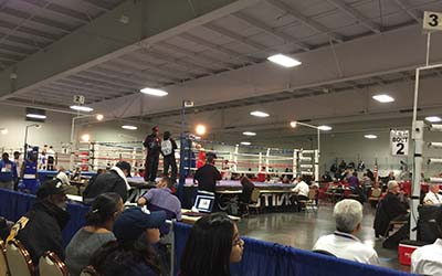 Site of the 2016 USA Amateur Boxing National Championships in Kansas City, Missouri