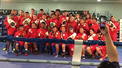 2017 USA Boxing National Travel Team Photo in Kansas City, Missouri