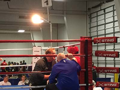 Alexis Lavarine win 5/0 Unanimous decision in the finals of the 2016 USA Amateur Boxing National Championships.