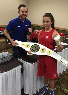 USA Team Belt give to winning National Team Members