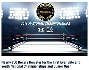 Alexis Lavarine Set to Compete in the USA Boxing 2016 National Championships, Kansas City, MO