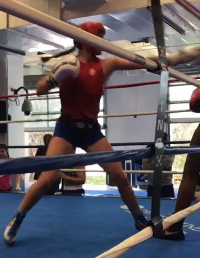 Alexis in the ring