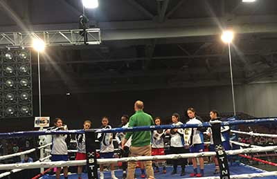 Alexis with USA Boxing teammates