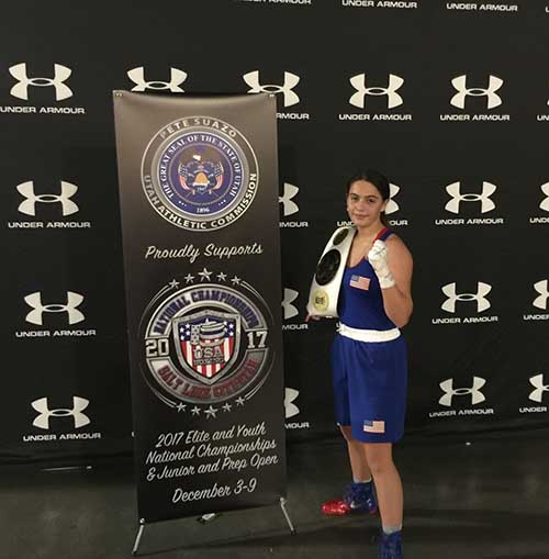 Alexis at the 2017 Elite and Youth National Championships