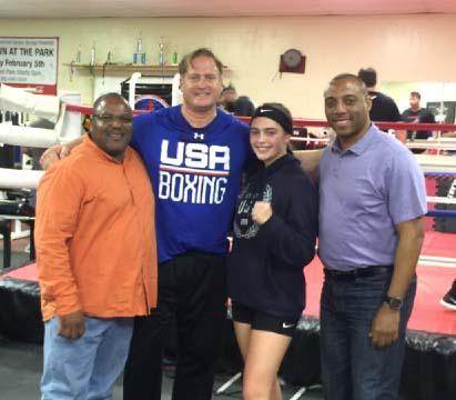 Alexis with Juan Kincaid and Lance Washington from Fox News